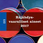 Räjähdysvaaralliset aineet 2016_kansi.indd